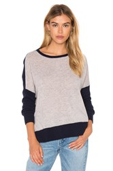 Charli Cressida Color Block Sweater Gray