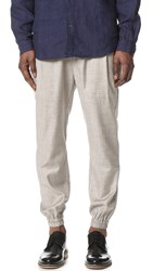 Shades Of Grey Pleated Joggers Taupe Granite