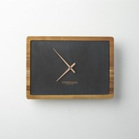 Cb2 Slate Wall Clock