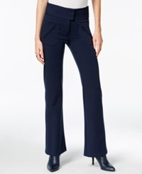 Bar Iii High Rise Flared Pants Only At Macy's Ink Spill
