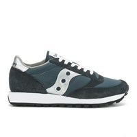 Saucony Men's Jazz Original Trainers Navy Silver Blue Silver
