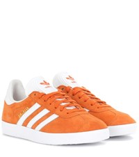 Adidas Gazelle Suede Sneakers Orange