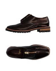 F Troupe Loafers Dark Brown