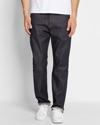 Carhartt Blue Leyton Carter Selvedge Straight Fit Jeans