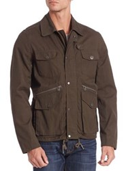 Saks Fifth Avenue Modern Hunting Jacket Olive