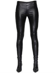 Ermanno Scervino Stretch Faux Nappa Leather Pants