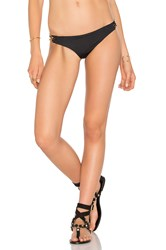 Trina Turk Brazilian Hipster Bottom Black
