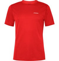 Patagonia Fore Runner Jersey T Shirt Red