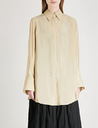 Song For The Mute Oversized Woven Shirt Daikon