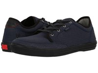Chrome Mirko Box Canvas Indigo Black Men's Shoes Blue
