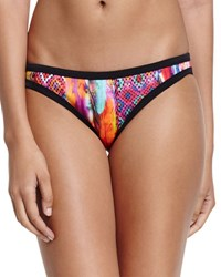 Seafolly Scuba Printed Hipster Swim Bottom Mexican Summer