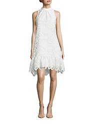 Erin By Erin Fetherston Coquette Keyhole Lace Dress Ivory