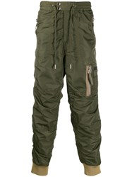 Diesel Tapered Trousers Green