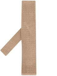 Tom Ford Knitted Tie Neutrals