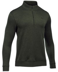 Under Armour Men's Quarter Zip Storm Fleece Sweater Artillery Green