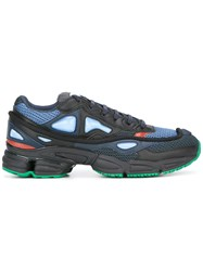 Raf Simons Adidas By Lace Up Sneakers Blue