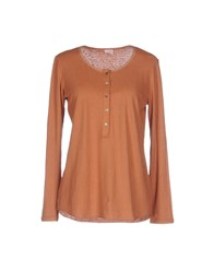 Pomandere T Shirts Brown