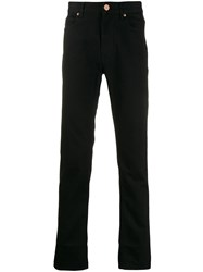 Vivienne Westwood Anglomania Mid Rise Tapered Jeans Black