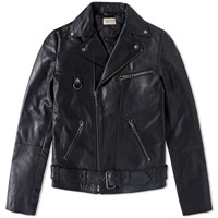 Nudie Jeans Nudie Ziggy Leather Jacket Black
