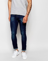 Dr. Denim Dr Denim Jeans Snap Super Skinny Fit Dark Blue Wash Darkbluewash