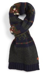 Bickley Mitchell Men's Jacquard Scarf