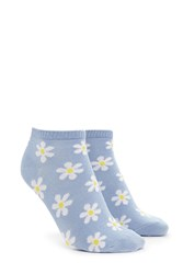 Forever 21 Daisy Patterned Ankle Socks