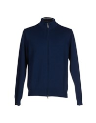 Bramante Knitwear Cardigans Men Dark Blue
