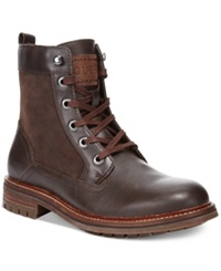 Guess Reid Tall Boots Men's Shoes Brown