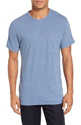 Velvet By Graham And Spencer Men's Legend Stripe Pique T Shirt