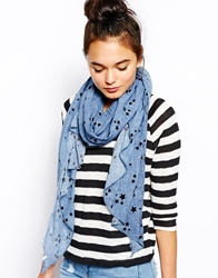 Esprit Star Scarf Shadowblue