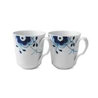 Royal Copenhagen Blue Fluted Mega Mug Set Of 2