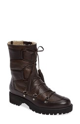 Rudsak Women's Balou Winter Boot Brown Leather