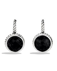 Color Classics Drop Earrings With Black Onyx David Yurman Silver