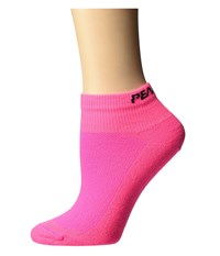 Pearl Izumi W Attack Low Sock Screaming Pink Women's Low Cut Socks Shoes