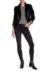 Mih Jeans Bodycon High Rise Skinny Jean Gray