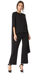 Narciso Rodriguez Bell Sleeve Top Black