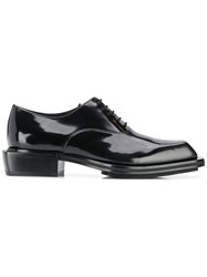 Alexander Mcqueen Lace Up Oxford Shoes Black