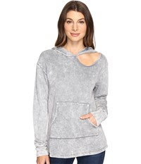 Lna Cueva Hoodie Mineral Grey Women's Clothing Gray
