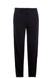 The Row Pepita Cashmere Trousers