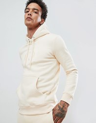 Criminal Damage Hoodie In Stone With Small Logo