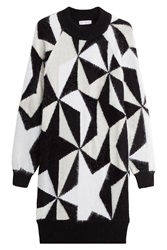 Vionnet Sweater Dress With Mohair Angora And Cashmere Multicolor