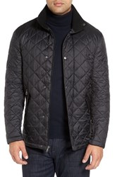 Cole Haan Men's Diamond Quilted Jacket Black