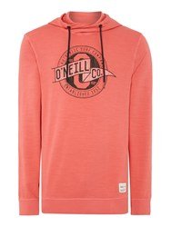 O'neill Men's Sea Diff Hoodie Red