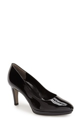 Paul Green 'Ceylon' Platform Pump Women Black Patent