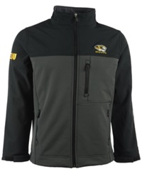 Colosseum Men's Missouri Tigers Yukon Ii Jacket Black Charcoal