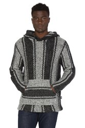 Stussy Chunky Knit Drug Rug Sweater Grey