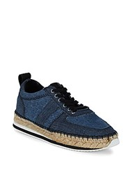 Mcq By Alexander Mcqueen Lace Up Espadrilles Midnight Blue