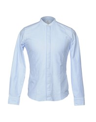 Agho Shirts Sky Blue