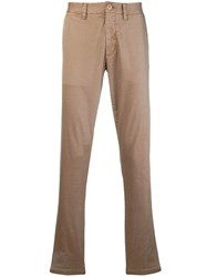 Sun 68 Slim Fit Chinos Nude And Neutrals
