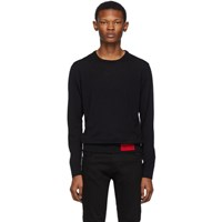Versace Jeans Couture Black Knit Sweater